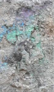 Thaw / 60x40cm  - 2012 / Technique mixte sur toile – mixed media on canvas