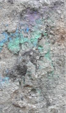 Volcan, 60x40cm, 2012 - technique mixte sur toile.